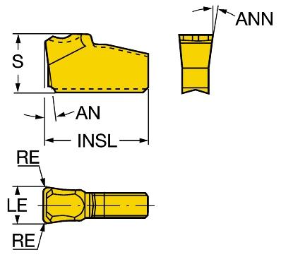 T-Max® Q-cutter Pastilha para cortes