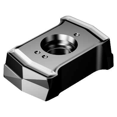 PVD TIALN Carbide CoroDrill DS20 Insert for Drilling 4344 Grade Zertivo Technology DS20-0306-P-H5W 4344 Sandvik Coromant