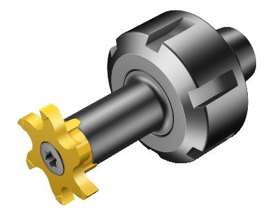 Sandvik Coromant 392.ER327-16 12 030 Steel ER to CoroMill 327 Adaptor